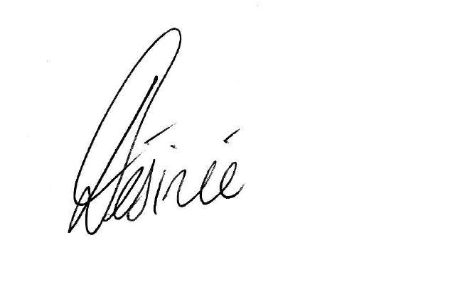 Desiree Ballantyne Signature