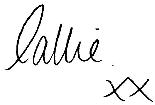 Callie Roberts Autograph