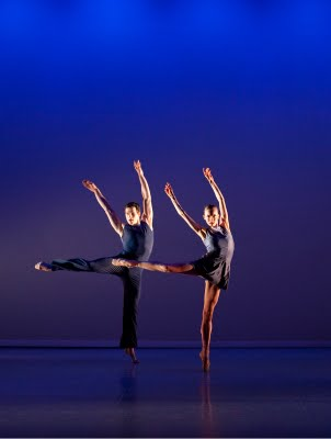 Diarmaid O'Meara & Anna Blackwell in Ascent by Mikaela Polley, Photograph : Bill Cooper