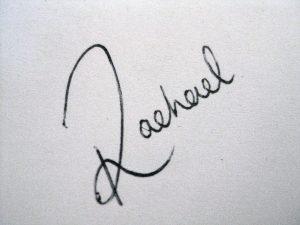 Rachael Gillespie Autograph