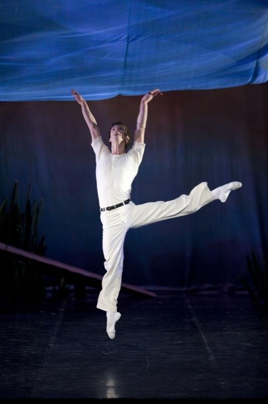 Tobias Batley in Swan Lake, Photograph : Bill Cooper