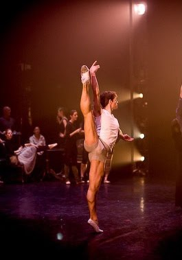 James Forbat as a Dancing Gentleman in Manon