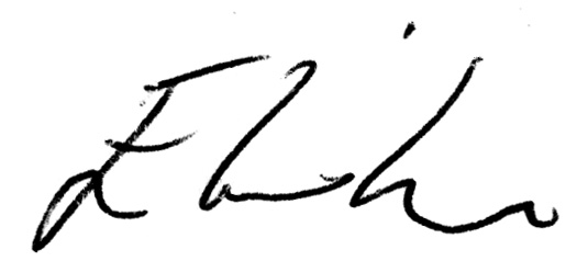 Elisha Willis Autograph