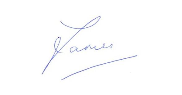 James Forbat Autograph