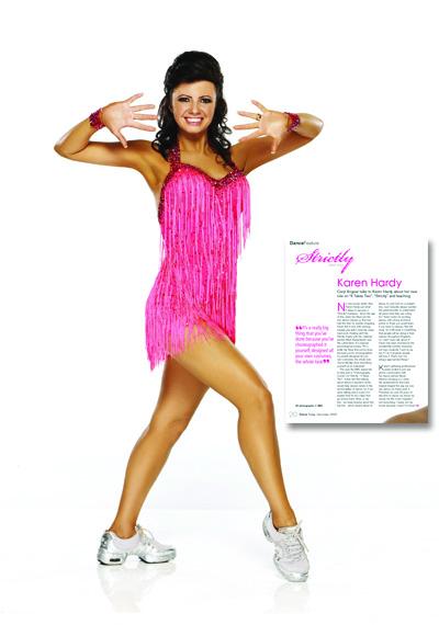 Karen Hardy in Dance Today