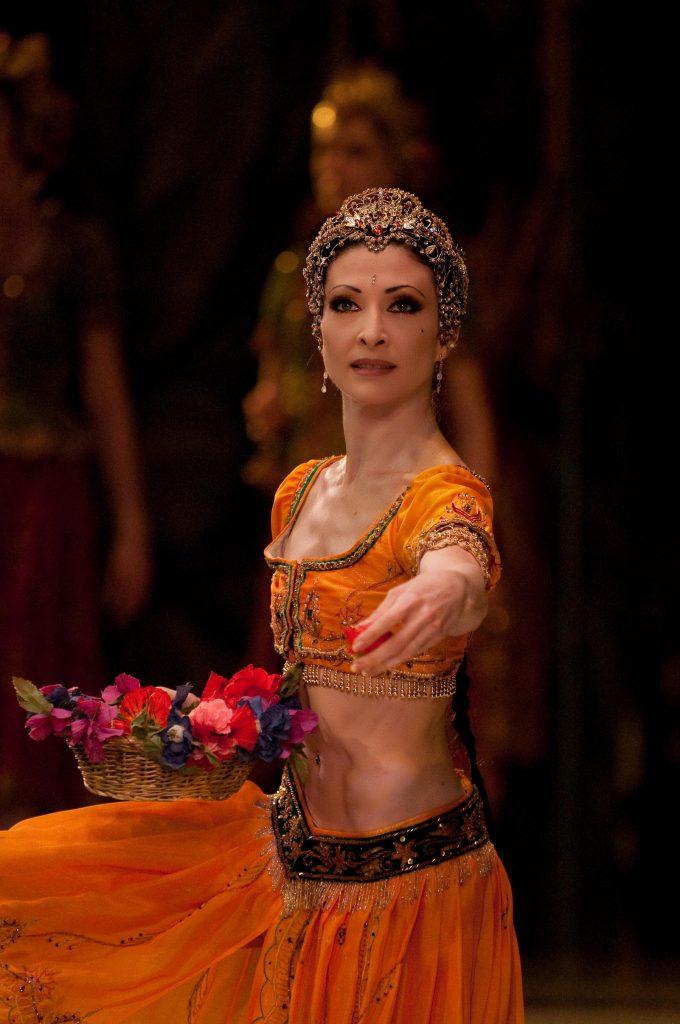 a dallet dancer in la Bayadere