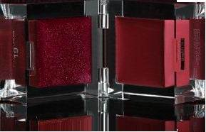 Inglot Cosmetics red lip paint