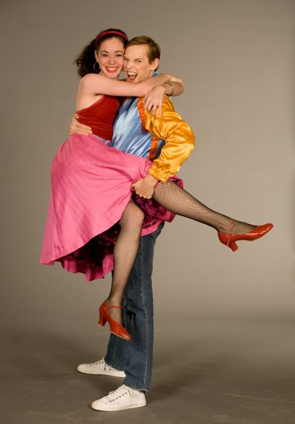 dancer being held by male dancer