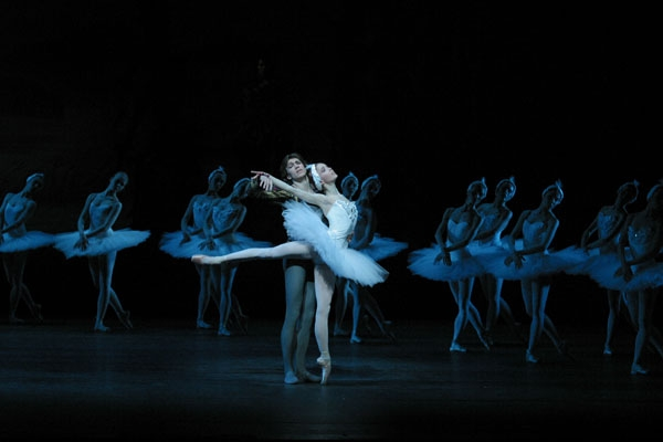ballet dancer on Swan Lake