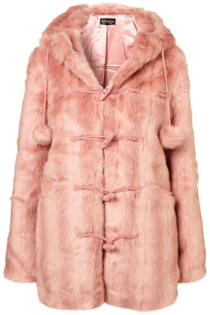 ballet pink coat