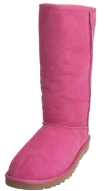 pink ballet boot