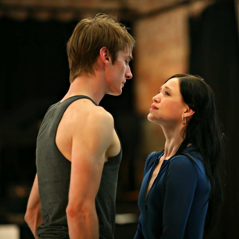 Queensland Ballet's Francois Klaus's King Arthur  the Tales of Camelot rehearsals Photo Ken Sparrow