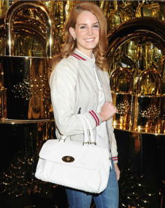 Lana Del Rey & Mulberry bag