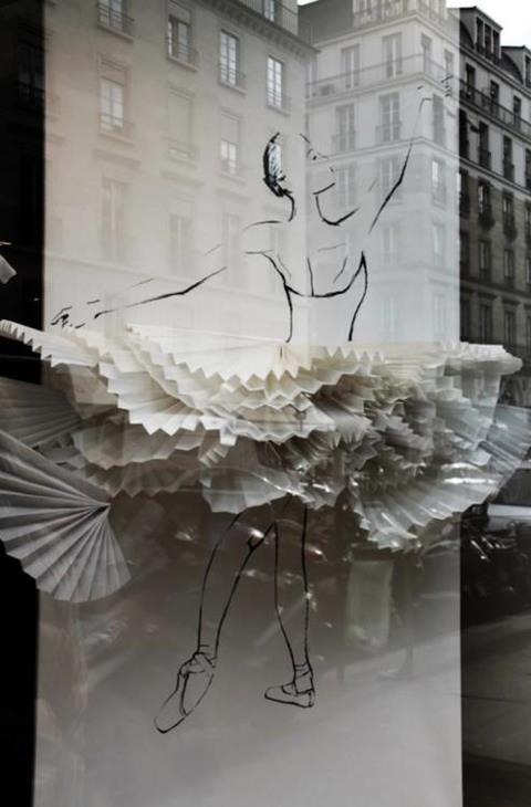 a paper tutu from Repetto