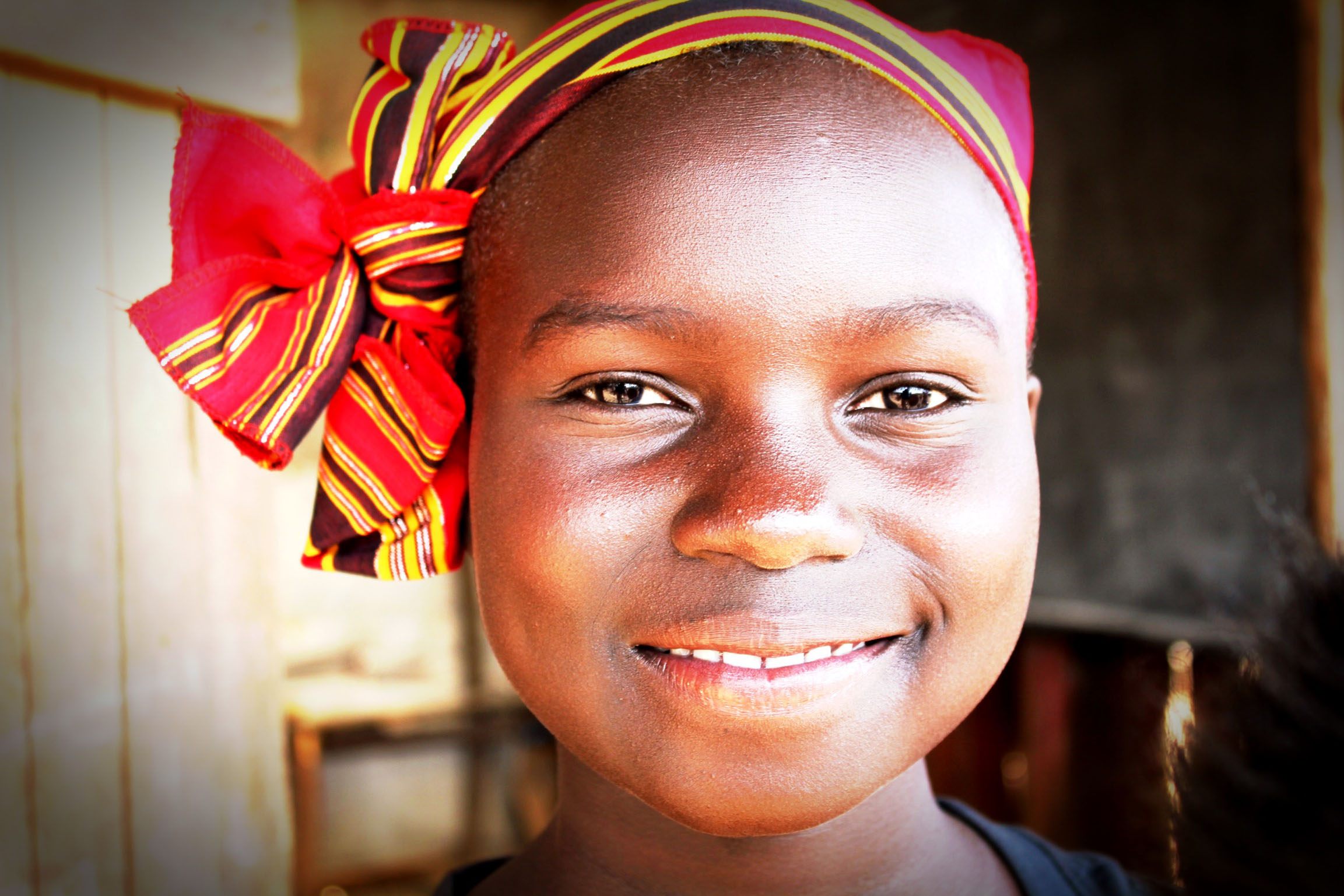 The African Children'€™s Choir soloist - Lydia - (C) Mark Jones