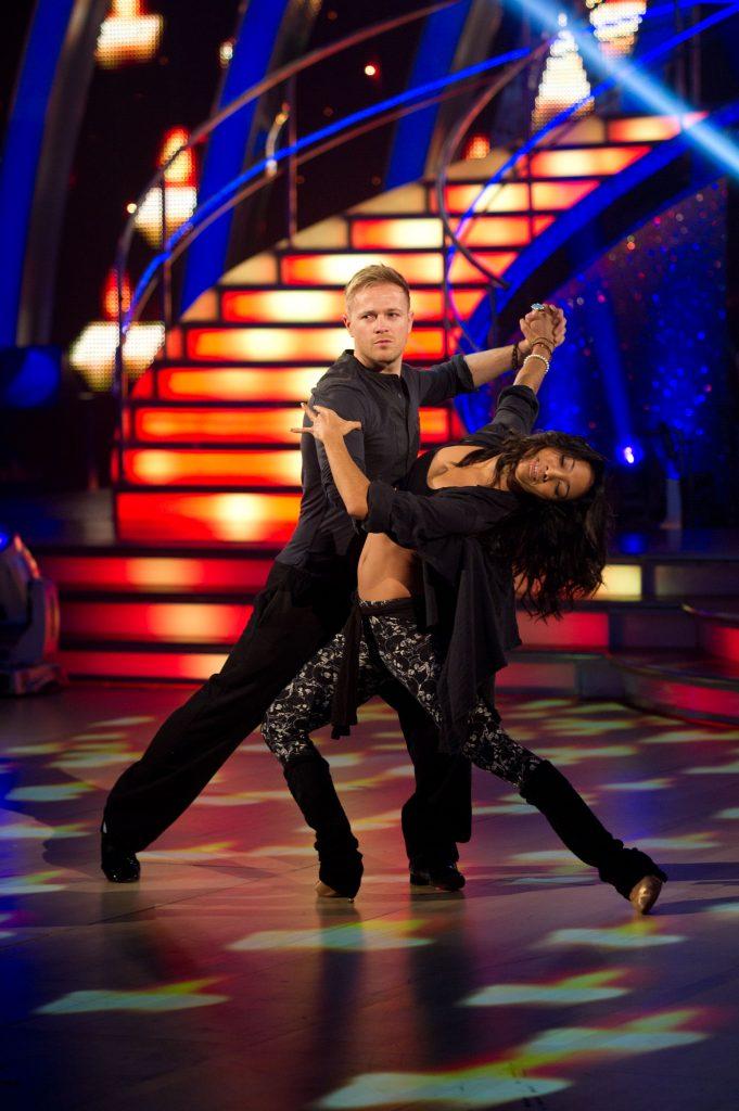 Nicky Byrne, Karen Hauer - (C) BBC - Photographer: Des Willie