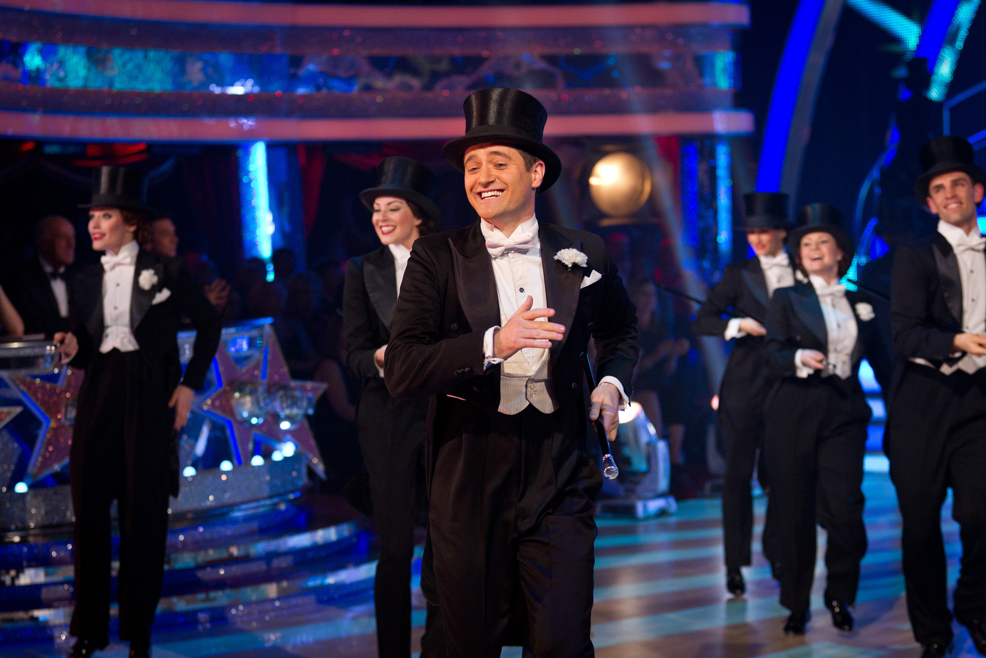 Cast of Top Hat Tom Chambers - (C) BBC - Photographer: Guy Levy