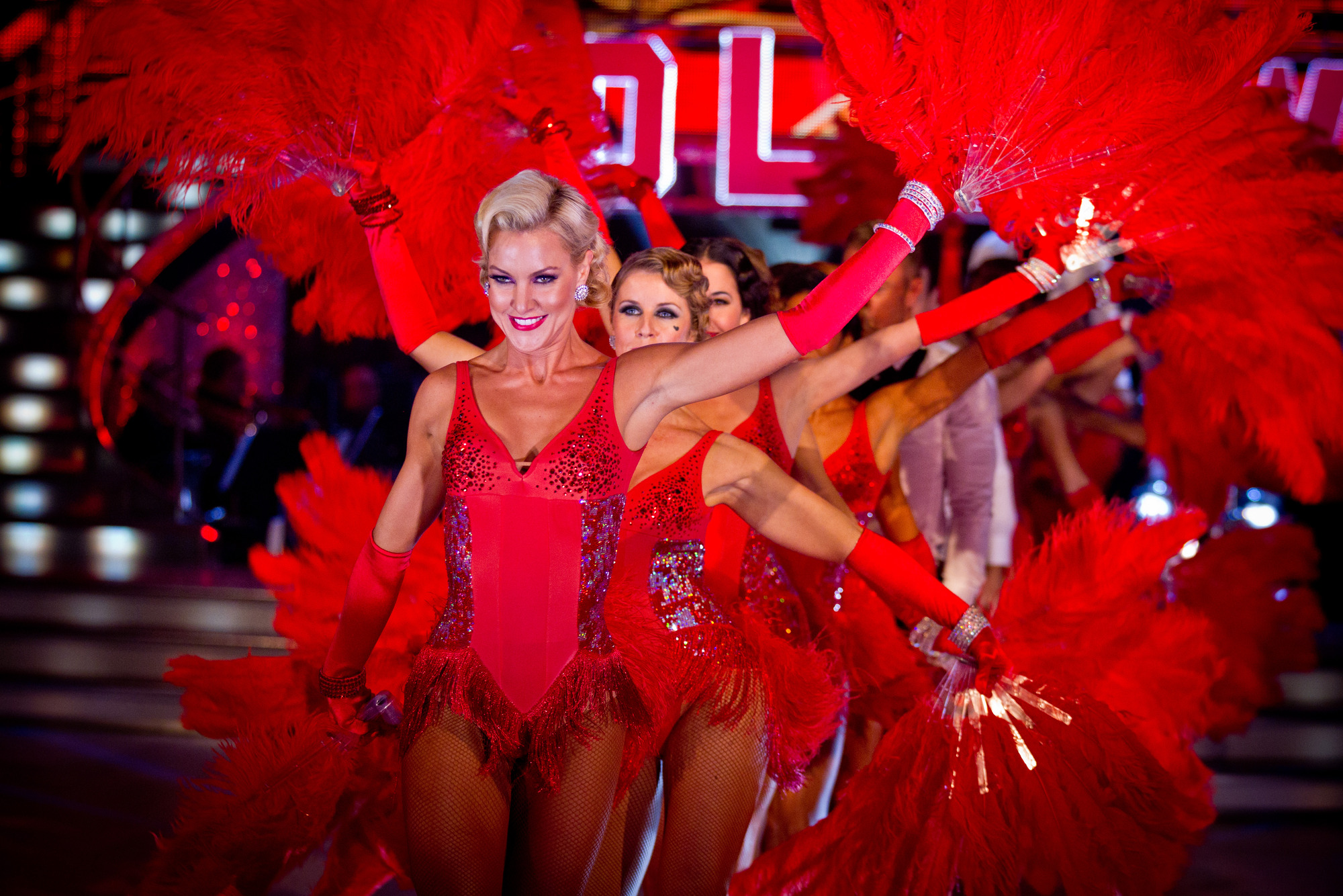 The Strictly Come Dancing professional dancers - (C) BBC - Photographer: Guy Levy