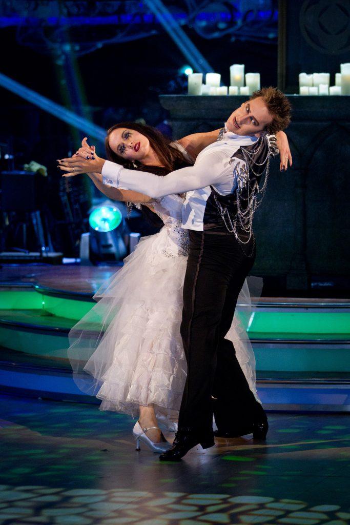 Victoria Pendleton, Brendan Cole - (C) BBC - Photographer: Guy Levi