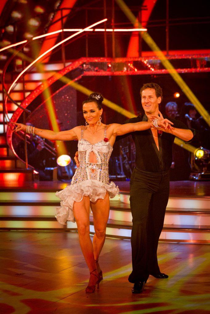 Victoria Pendleton, Brendan Cole - (C) BBC - Photographer: Guy Levy