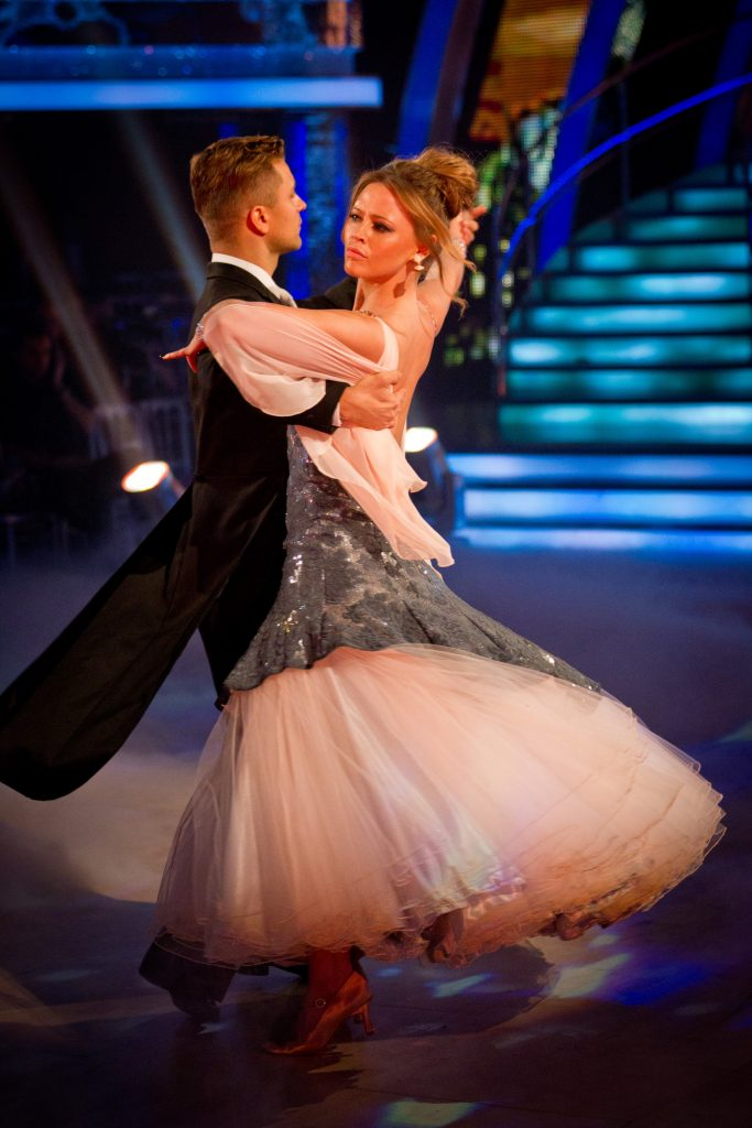 Pasha Kovalev, Kimberley Walsh - (C) BBC - Photographer: Guy Levy
