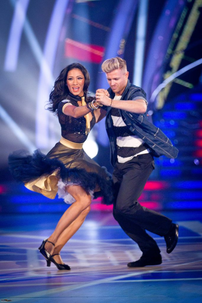 Karen Hauer, Nicky Byrne - (C) BBC - Photographer: Guy Levy