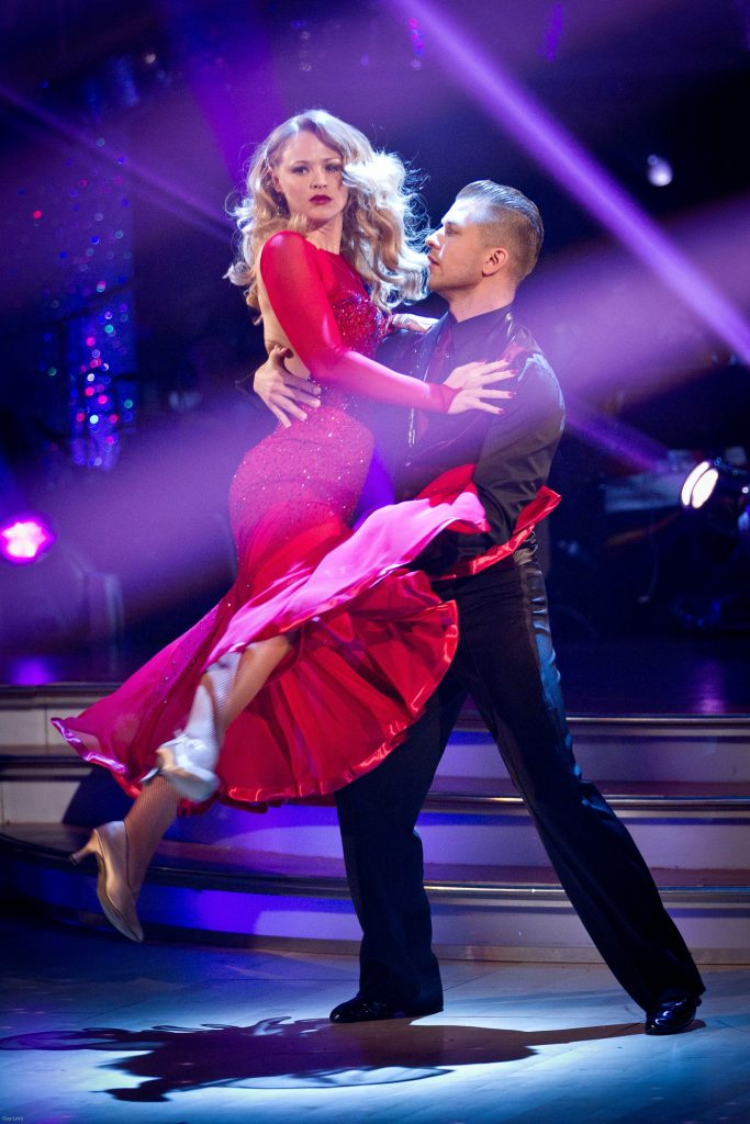 Kimberley Walsh, Pasha Kovalev - (C) BBC - Photographer: Guy Levy
