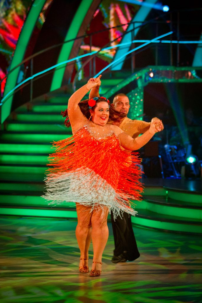 Lisa Riley, Robin Windsor - (C) BBC - Photographer: Guy Levy