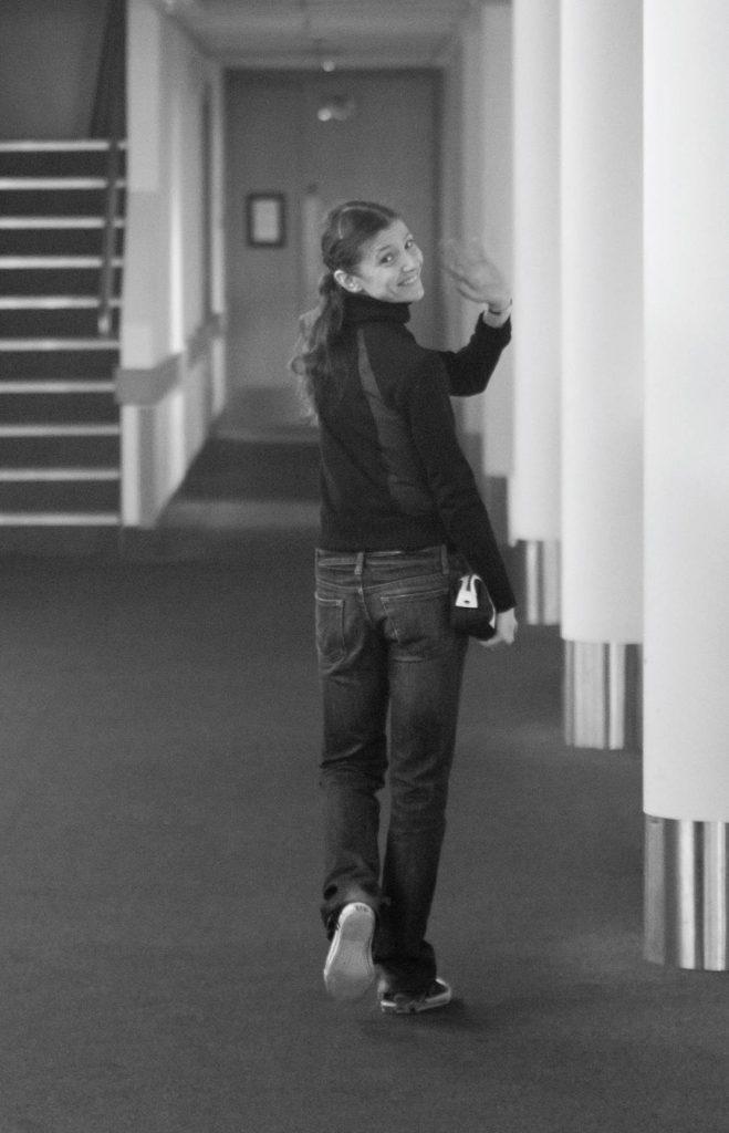 Alina Cojocaru  Photograph : Andrej Uspenski
