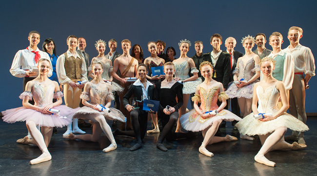 The Royal Ballet School. Young British Dancer of the Year competition. Photography throughout : Patrick Baldwin