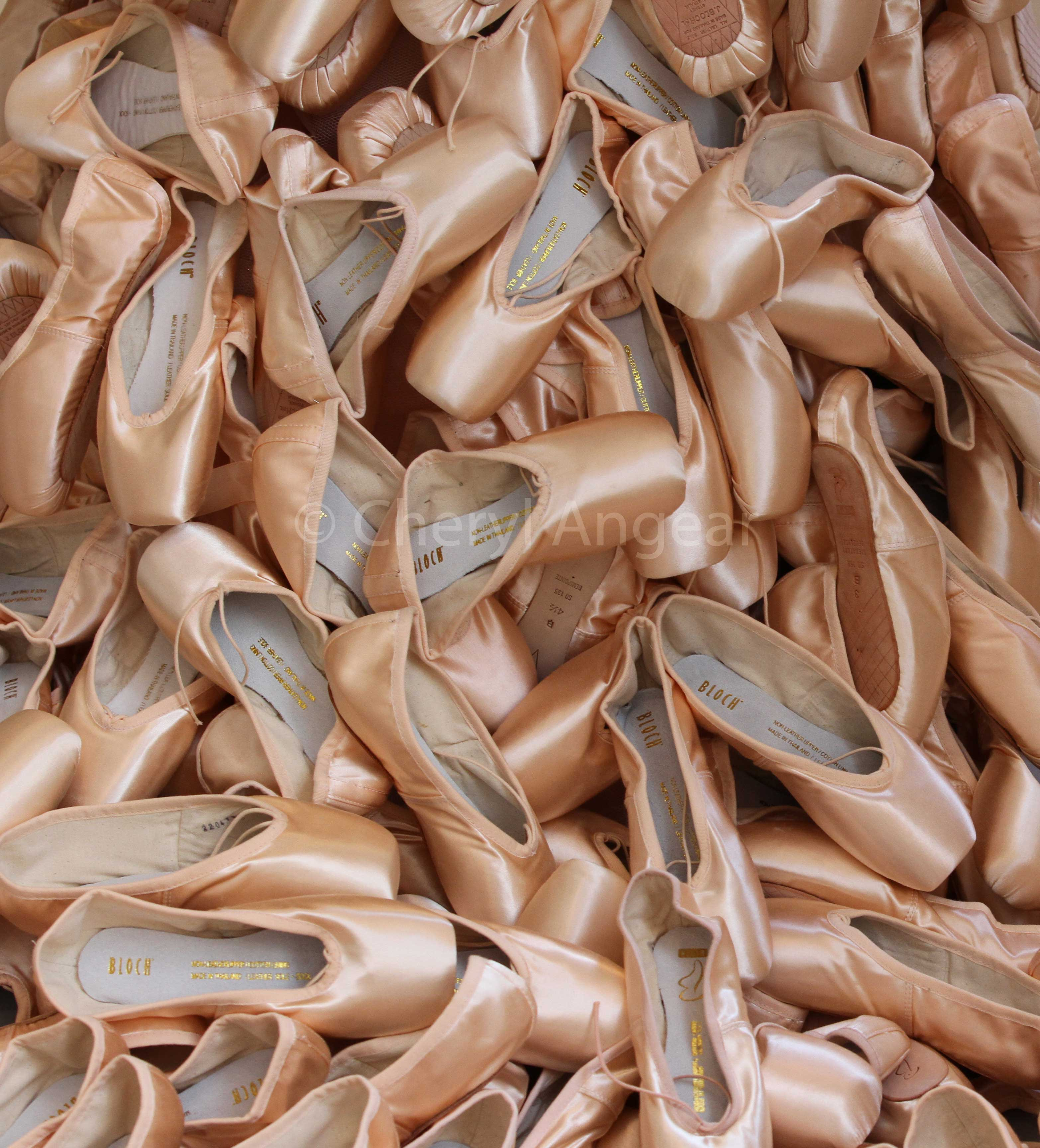 Ballet News, pointe shoes,