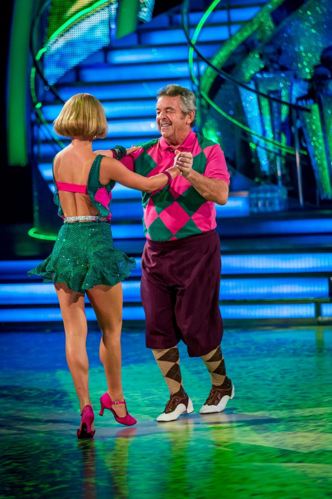 Aliona Vilani, Tony Jacklin - (C) BBC - Photographer: Guy Levy