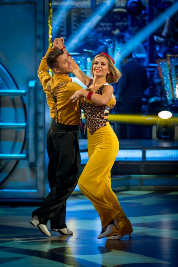 Pasha Kovalev, Rachel Riley - (C) BBC - Photographer: Guy Levy