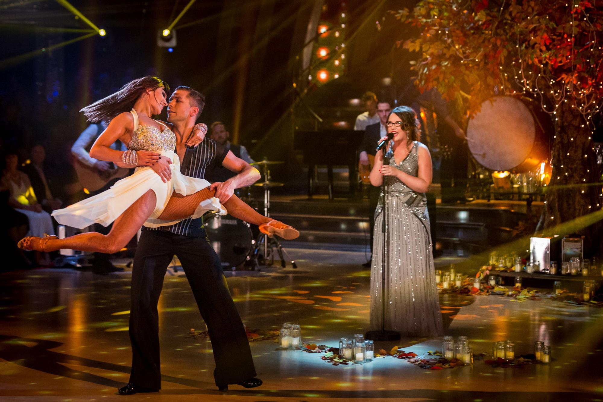 Anya Garnis, Pasha Kovalev, Andrea Begley - (C) BBC - Photographer: Guy Levy