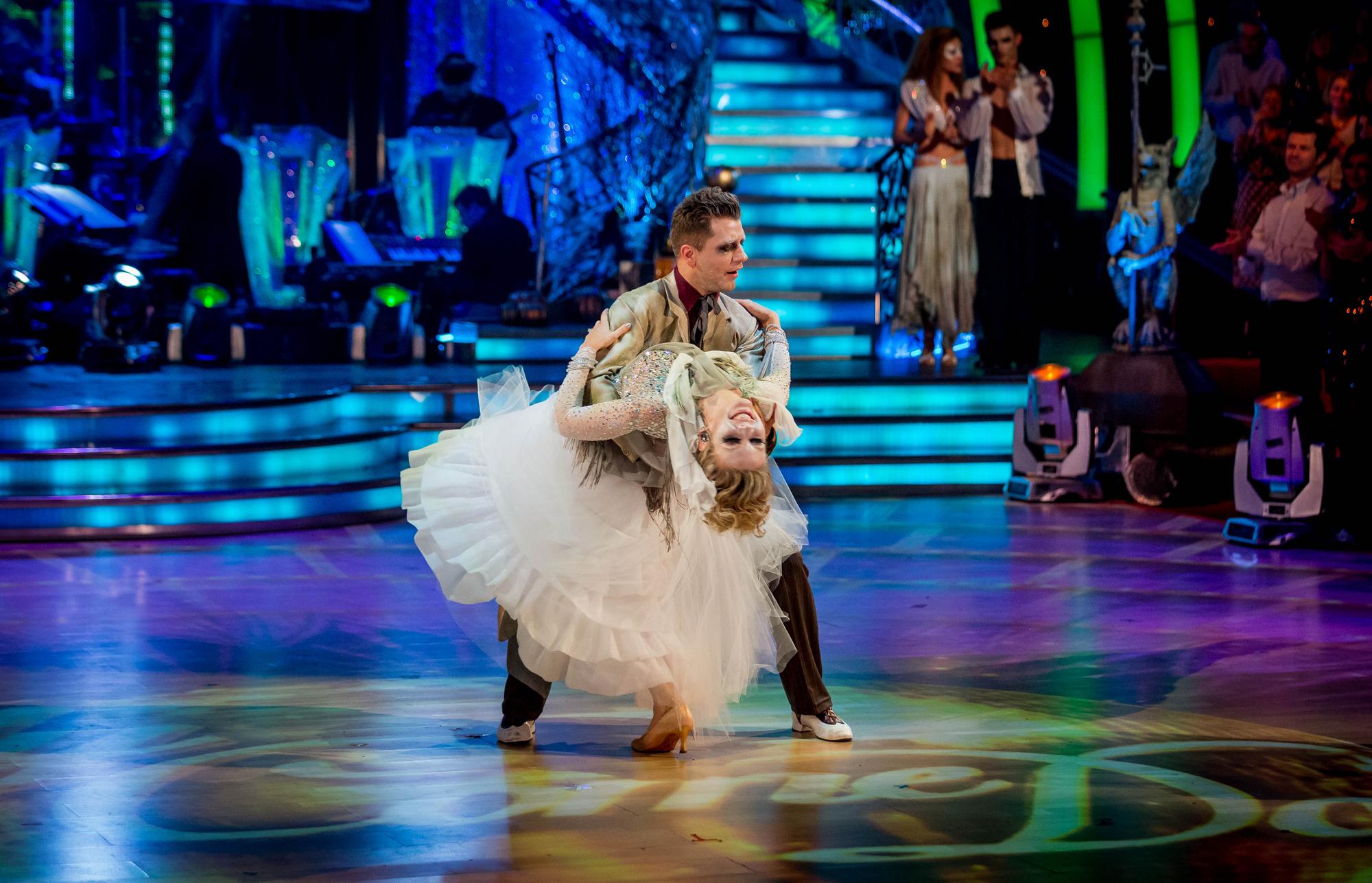 Rachel and Pasha take their final dance Rachel Riley, Pasha Kovalev - (C) BBC - Photographer: Guy Levy