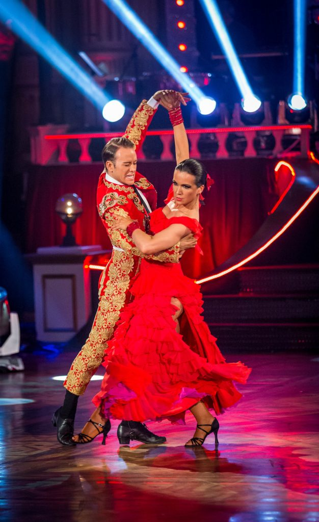 Kevin Clifton, Susanna Reid - (C) BBC - Photographer: Guy Levy