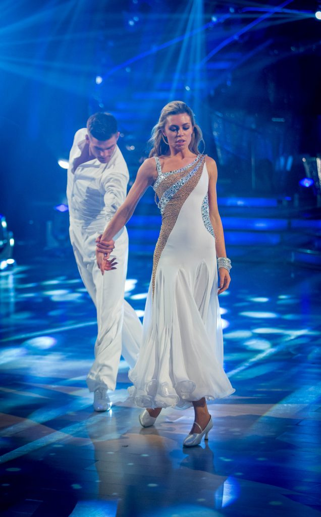 Aljaz Skorjanec, Abbey Clancy - (C) BBC - Photographer: Guy Levy