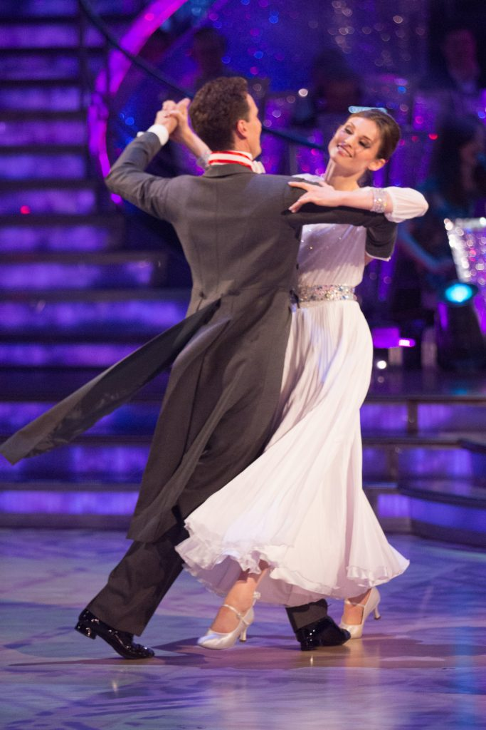 Brendan Cole, Sophie Ellis-Bextor - (C) BBC - Photographer: Guy Levy