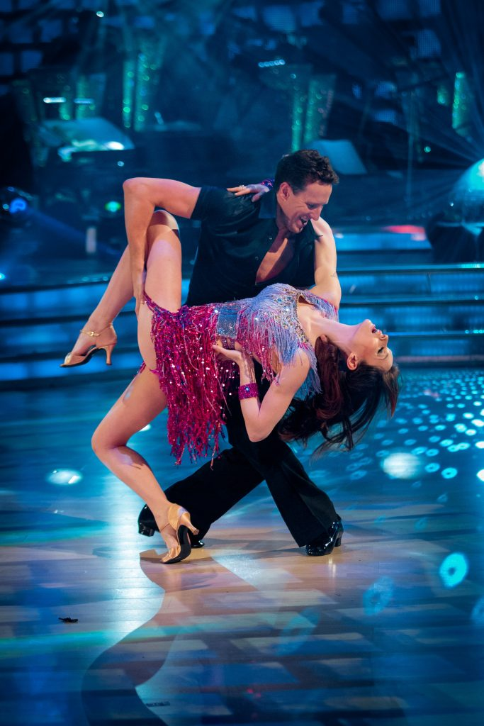 Sophie Ellis Bexter, Brendan Cole - (C) BBC - Photographer: Guy Levy