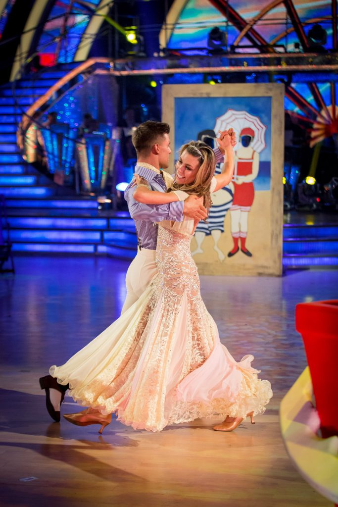 Abbey Clancy, Aljaz Skorjanec - (C) BBC - Photographer: Guy Levy