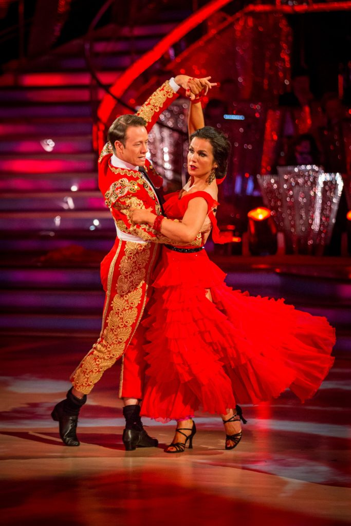 Susanna Reid, Kevin Clifton - (C) BBC - Photographer: Guy Levy