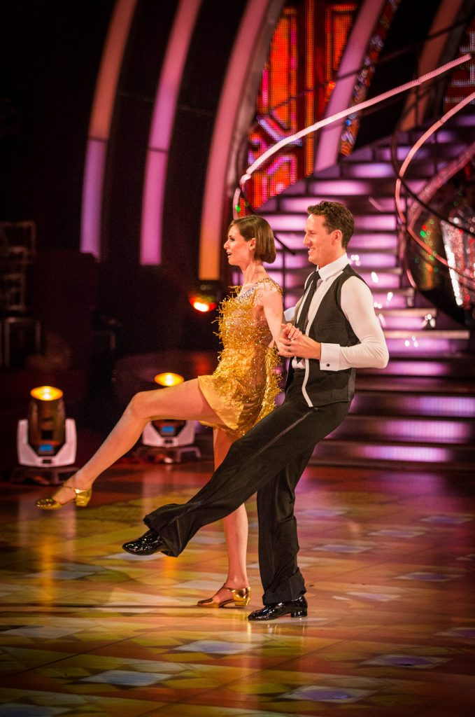 Sophie Ellis-Bextor, Brendan Cole - (C) BBC - Photographer: Guy Levy