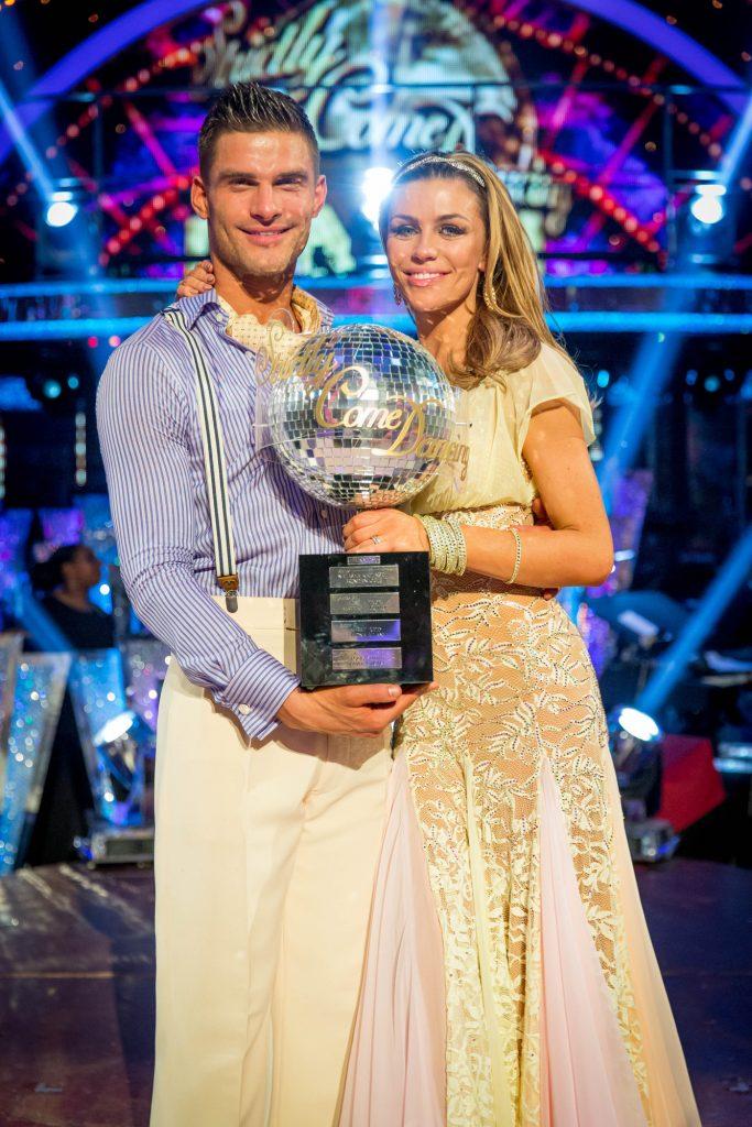 Abbey and Aljaz win Strictly Come Dancing 2013 Aljaz Skorjanec, Abbey Clancy - (C) BBC - Photographer: Guy Levy