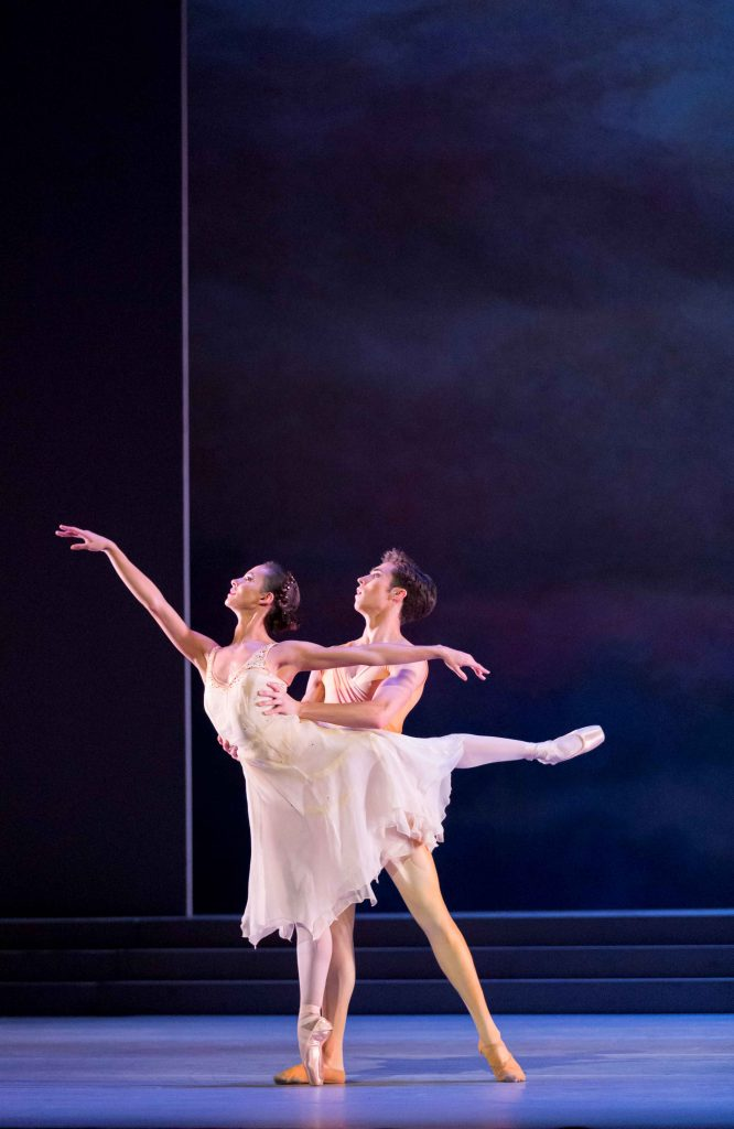 Francesca Hayward and James Hay