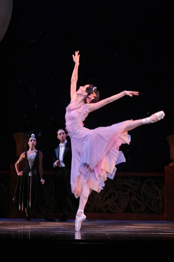 Sonia Rodriguez in Cinderella. Photo by Cylla von Tiedemann