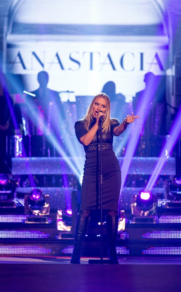 Anastacia performs on Strictly