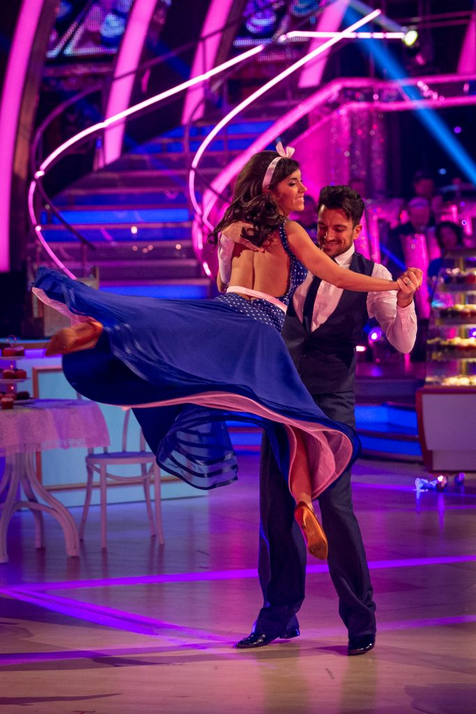 Janette Manrara dances on Strictly