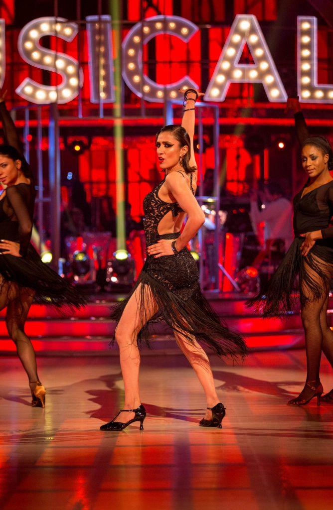 Gleb Savchenko dances on Strictly