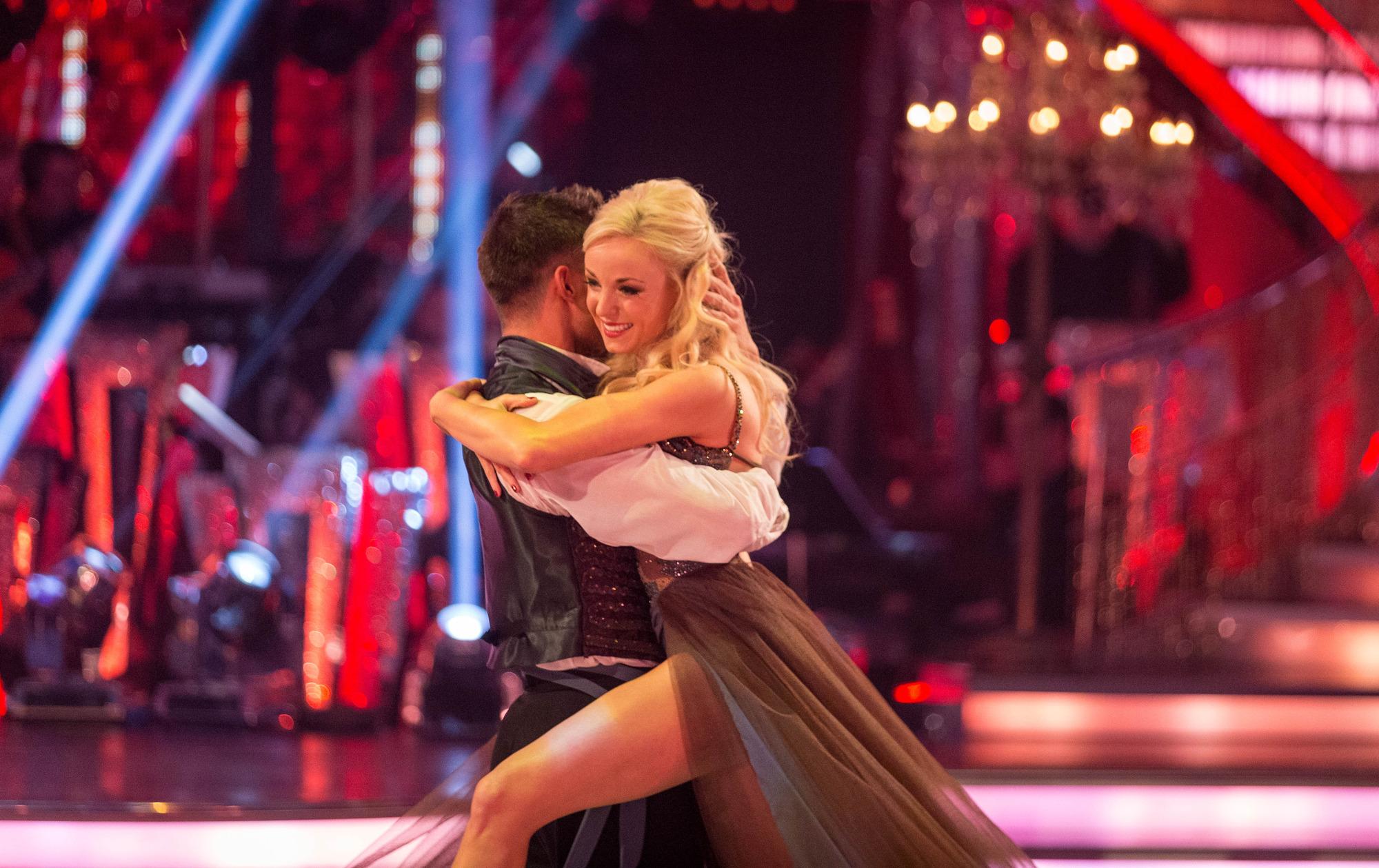 Helen and Aljaz take their final dance