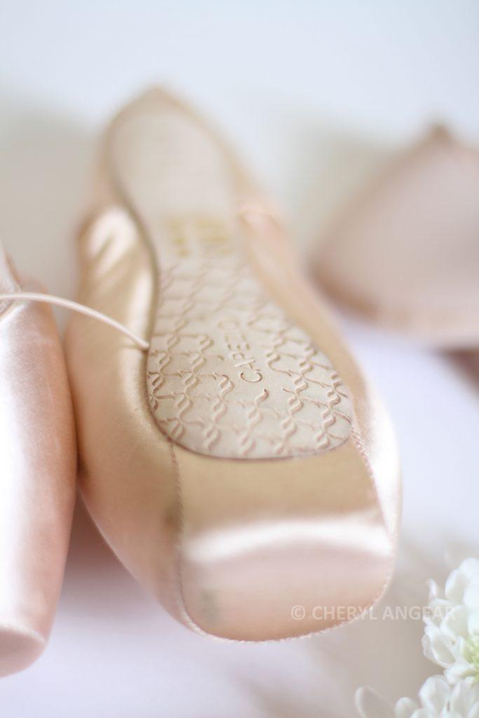 Capezio pointe shoes